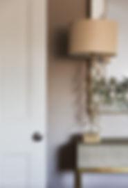 London Boutique Residences details lamp