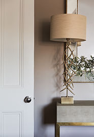 London Boutique Residences details lamp