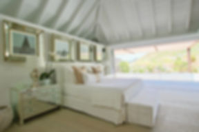 Hotel Le Toiny bedroom vista