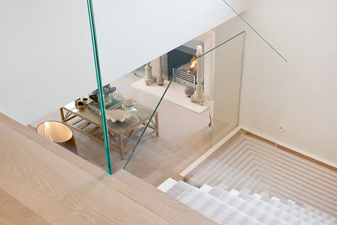 London Townhouse open stairway