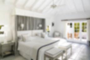 Hotel Cheval Blanc Isle de France hotel room luxury suite white furnishings
