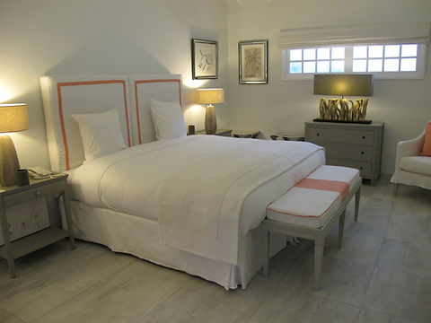 Hotel Cheval Blanc Isle de France hotel room suite bespoke furniture