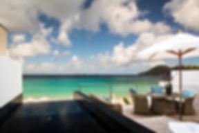 Hotel Cheval Blanc Isle de France villa terrace plunge pool
