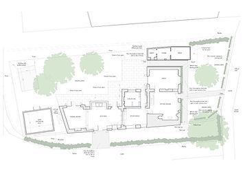 Cotswolds Cottage residential interior design floor plan
