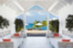 Hotel Cheval Blanc Isle de France ocean vista bespoke benches