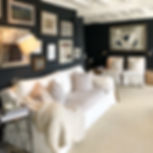 Interior Design Studio white furniture artwork mirrors