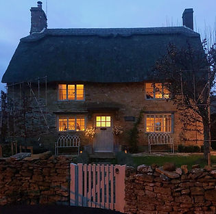 Cotswolds Cottage Evening