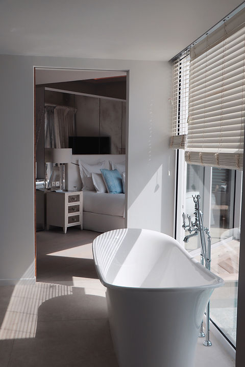 Hotel Le Toiny, bathtub