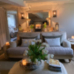 Cotswolds Cottage snug textures lighting mirror cosy