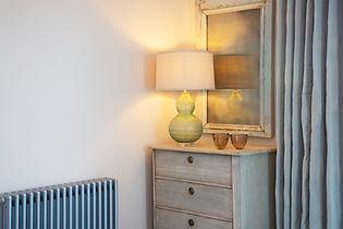 London Townhouse bedroom drawers dresser lightin