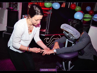 Massage Shiatsu sur chaise