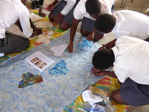 Sewing club - Whitewaters School