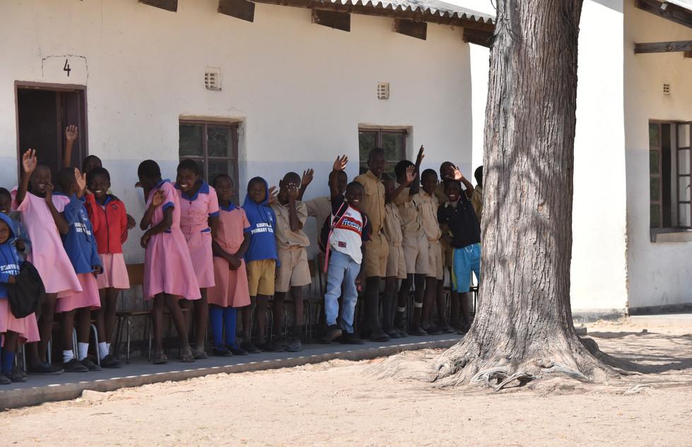 Greetings from Zimbabwe