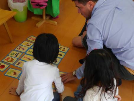 土曜日、幼稚園クラス