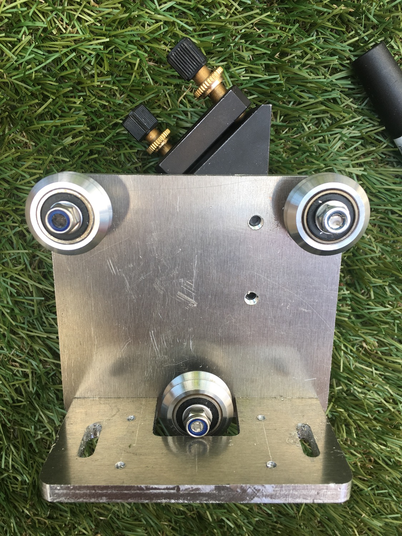 CNC assembled aluminium laser head