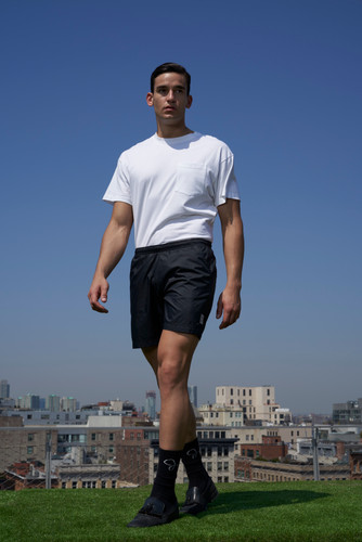 Look 4: Pocket Tee, Classic Short, Classic Sock