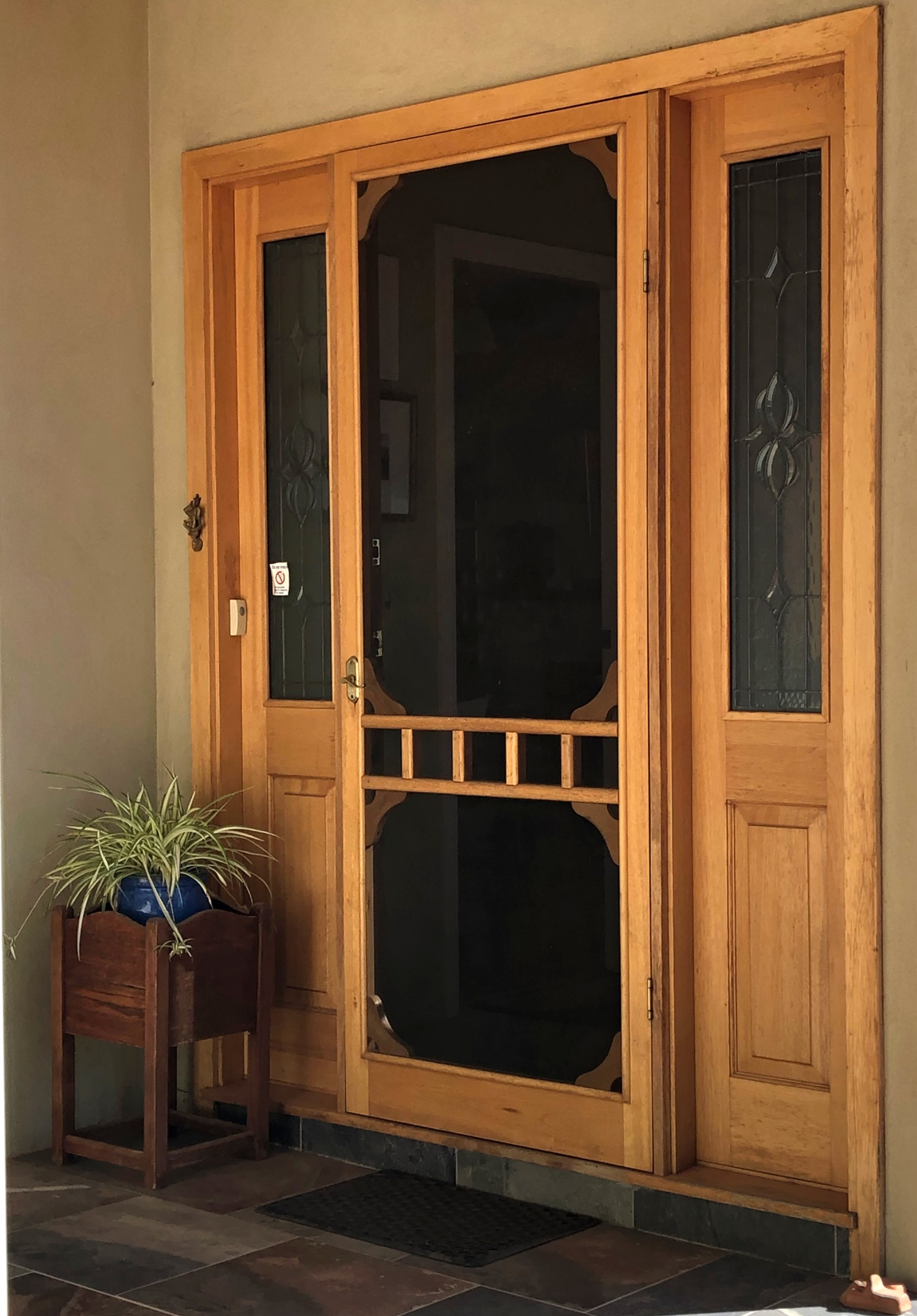 Custom Made Screen Door
