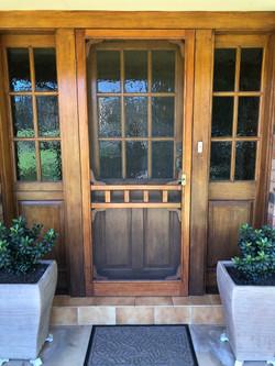 Custom Made Screen Door