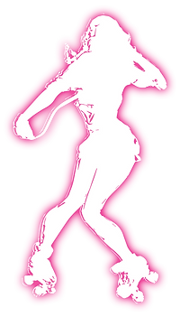 A female skater dancing