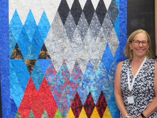 Map of Westeros at                           the Festival of Quilts