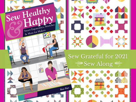 "WIN up to $1000 in amazing prizes in the FREE ""Sew Grateful for 2021"" Sew Along"