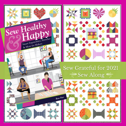 """WIN up to $1000 in amazing prizes in the FREE """"Sew Grateful for 2021"""" Sew Along"""