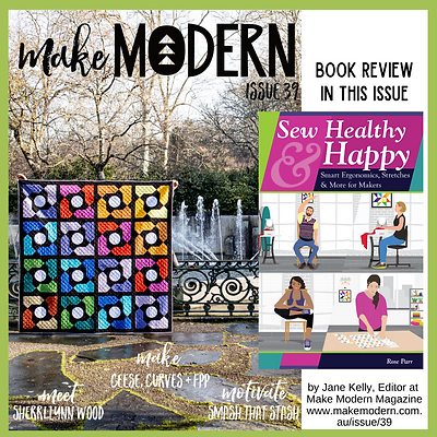 Book Review, Make modern Magazine    Sew happy and healthy By