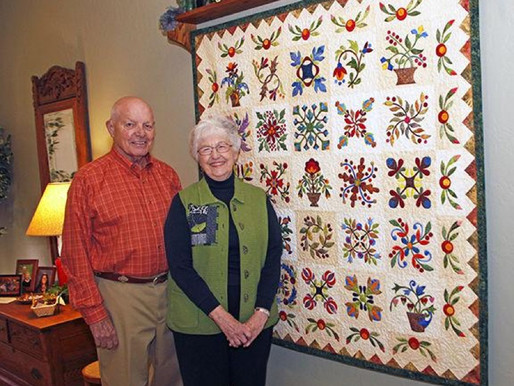 Aging Well: Sew Healthy-Quilting Benefits Your Brain