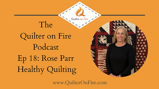 Quilter on fire podcast
