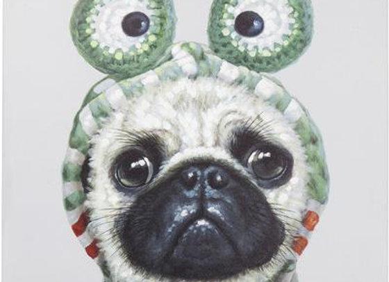 Cuadro Frog Dog