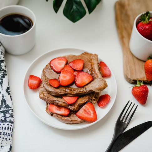 Vegan Protein French Toast