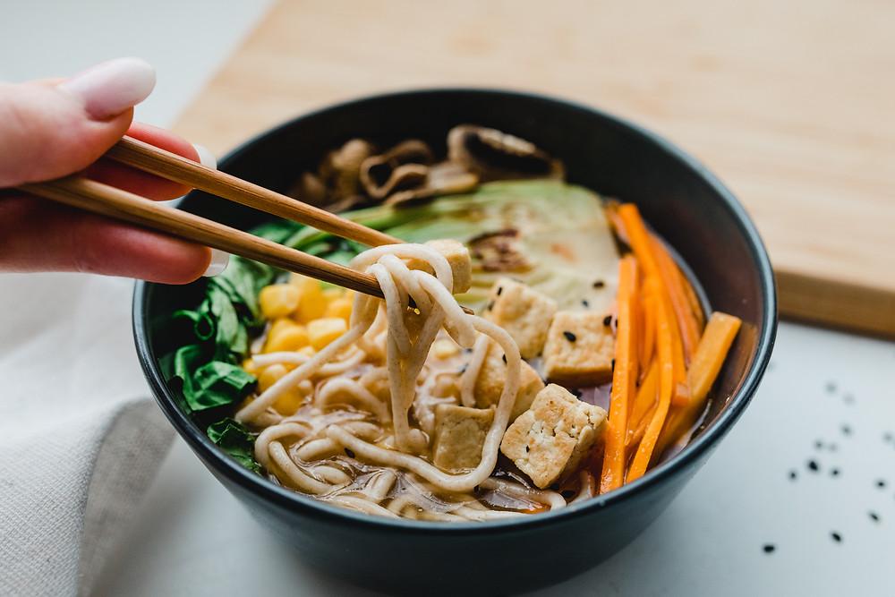 Vegan Tofu Ramen