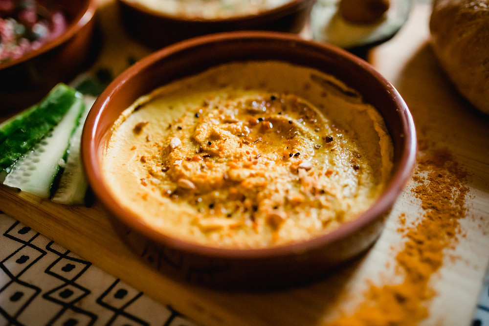 Turmeric Hummus