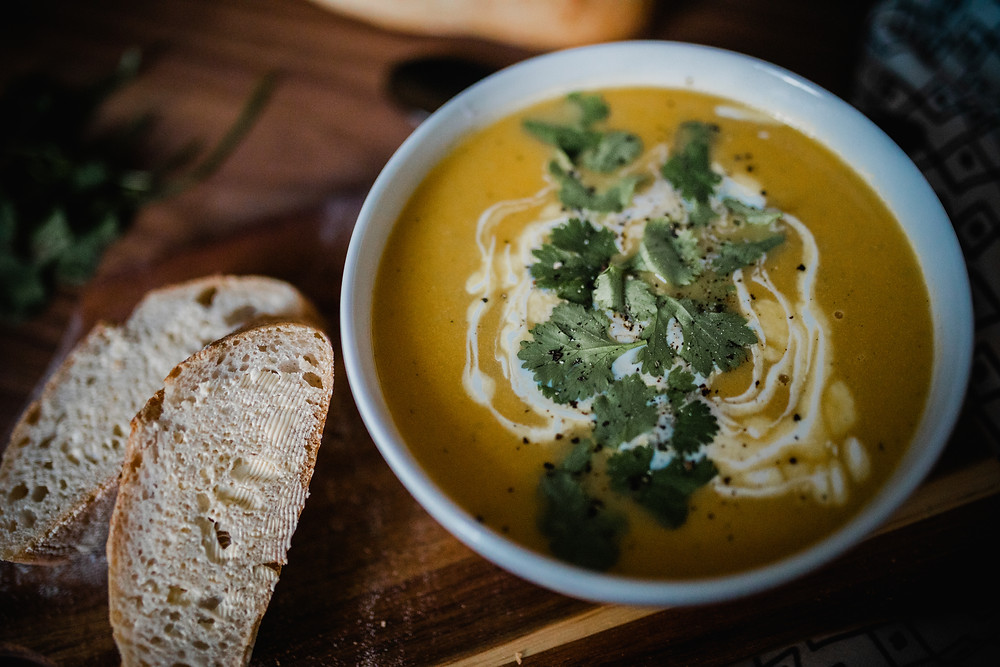 Sweet Potato and Coconut Soup