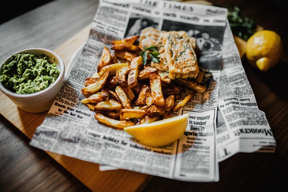 Tofu Fish and Chips