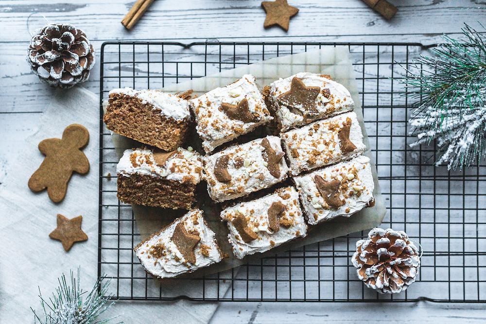 Vegan Winter-Spiced Sheet Cake