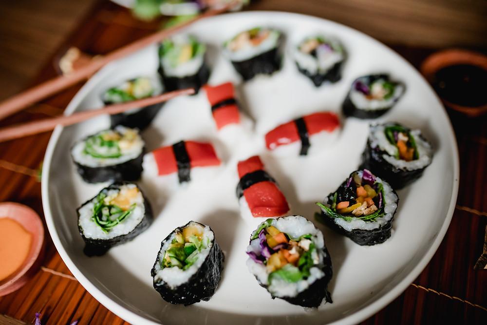 Vegan Sushi Platter