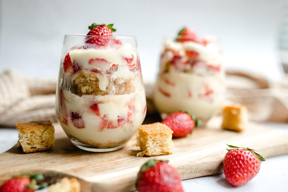 Vegan Trifle Cups