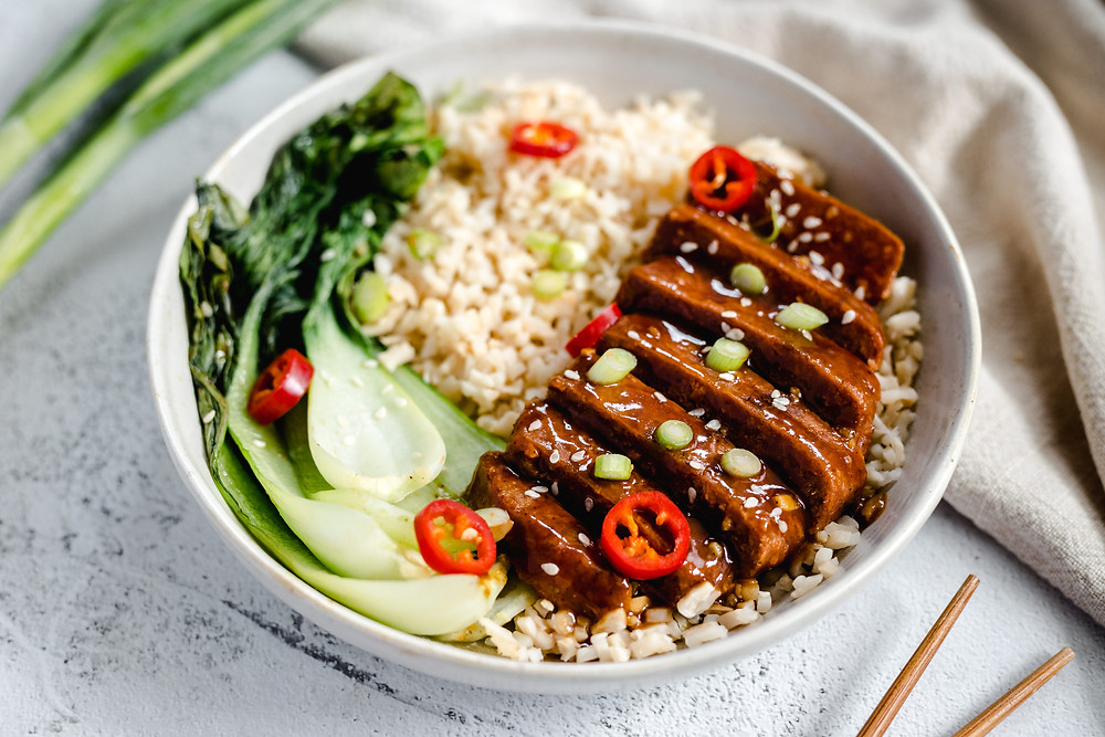 Vegan chinese sticky ribs
