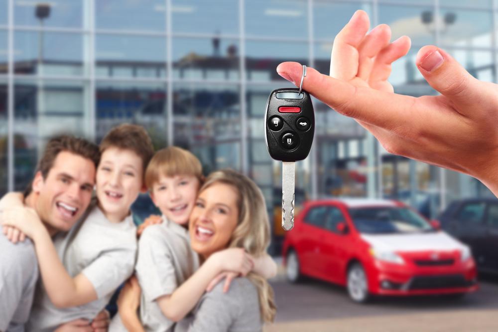 Alquile un vehículo en pocos minutos