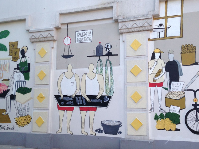 Graffiti-Festival. »3hoch2 - Ein Kezzle Buntez«.