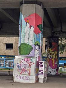 Wand in Bielefeld