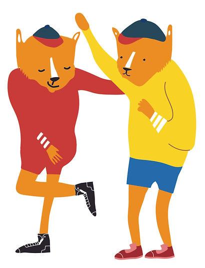Sabor Playground Illustration by Sue Bendek