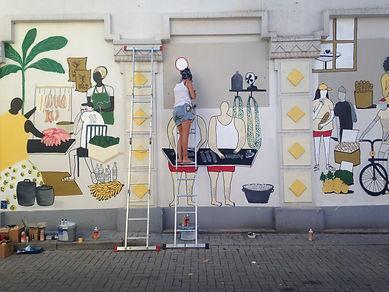 Wand Bielefeld