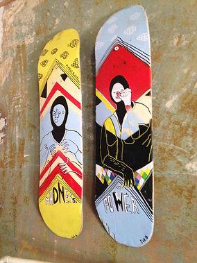 patinetas Sue Bendek Skateboards