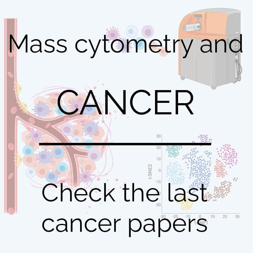 Mass cytometrry papers in cancer