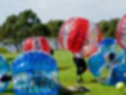 bubble soccer hire