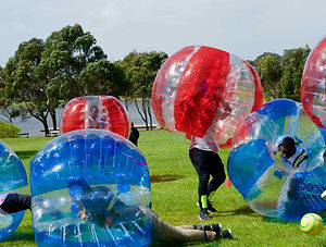 bubble soccer hire