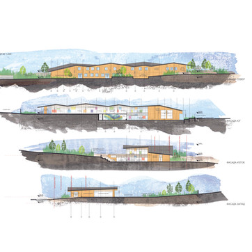 Kindergarten concept design