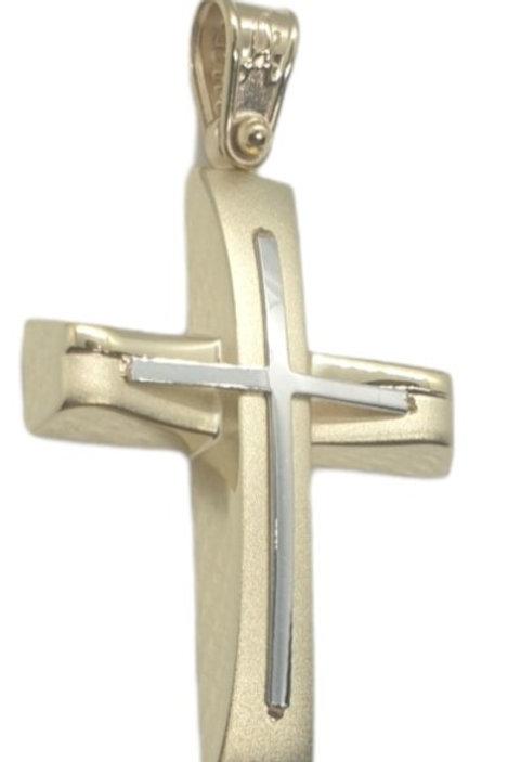 Χρυσός Σταυρός Γυναικείος